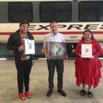 บริษัท รถไฟฟ้า ร.ฟ.ทจำกัด สนับสนุน บริษัทมหามงคลฟิล์ม สตูดิโอ โปรดักชั่น จำกัด ลงสื่อในการประชาสัมพันธ์ โฆษณา ลงบนจอLed กว่า 150 จุดทุกสถานี